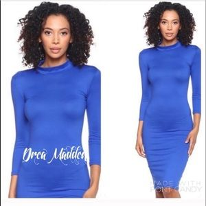 Dresses & Skirts - Blue Bodycon